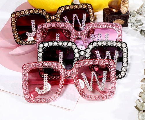 Square Diamond Trend J&W Oversize Glasses