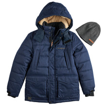 Load image into Gallery viewer, Boys 8-20 Jacket & Hat - kats closet1