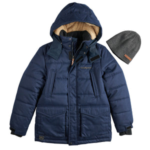 Boys 8-20 Jacket & Hat - kats closet1