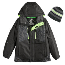 Load image into Gallery viewer, Boys 8-20 Subzero Snowboard Jacket & Hat - kats closet1