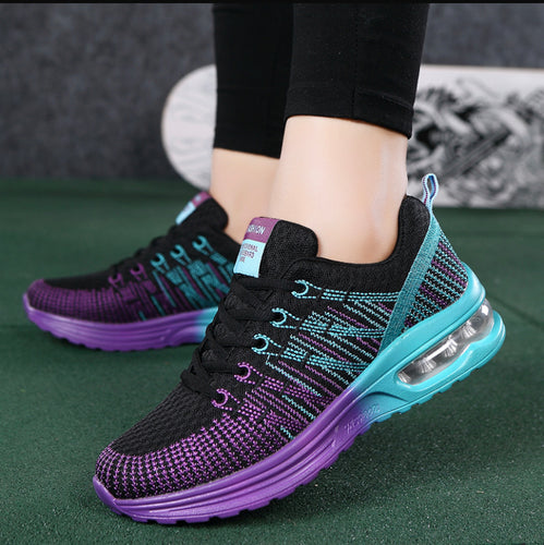 Women Fashion  Air Cushion Running Shoes