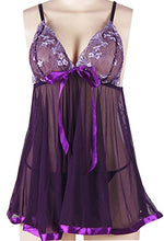 Load image into Gallery viewer, Lingerie, Womens Chemises Lace Babydoll Nightwear - kats closet1