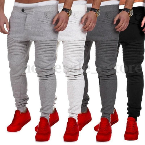 men's fitness explosion casual pants pants - kats closet1