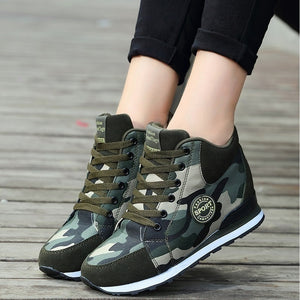Camouflage Casual High-Top Sport Shoes - kats closet1