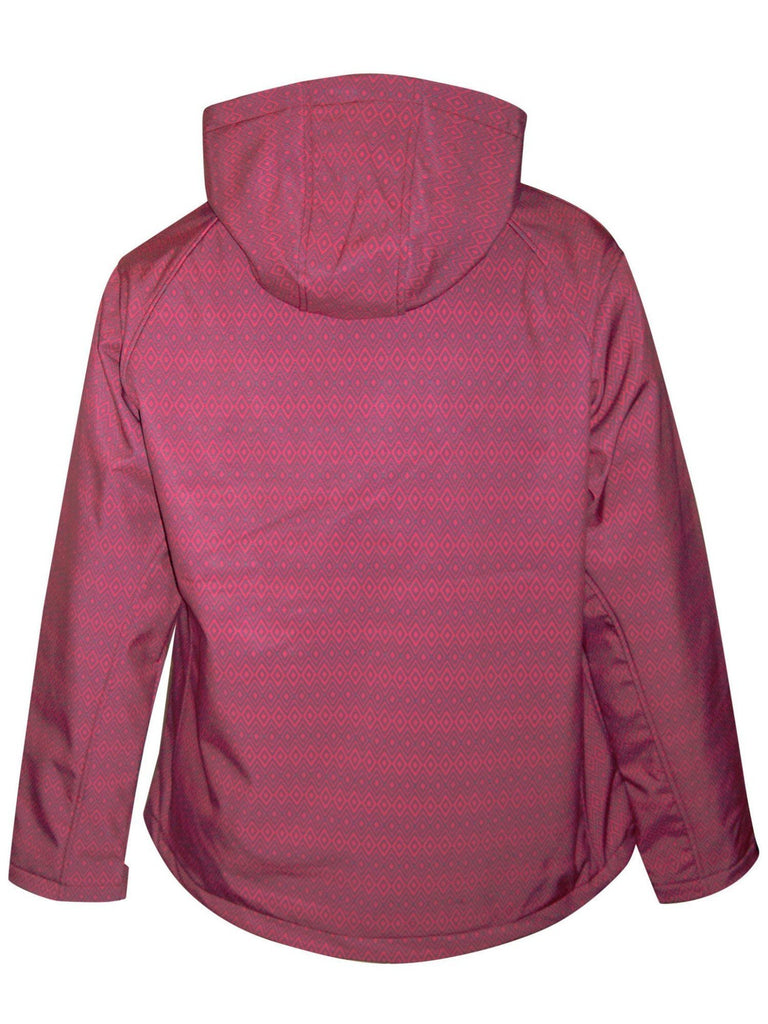 1cf72af9ef36c ... Pulse Womens Extended and Plus Size Soft Shell Hooded Jacket 1X-6XPulse Womens  Extended and