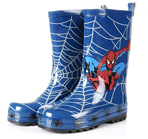 Spider-Man Boy Kids Rain Boot (Toddler/Little Kid) Blue - kats closet1