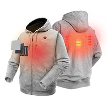 Load image into Gallery viewer, Heated Hoodie with Battery Pack (Unisex) - kats closet1