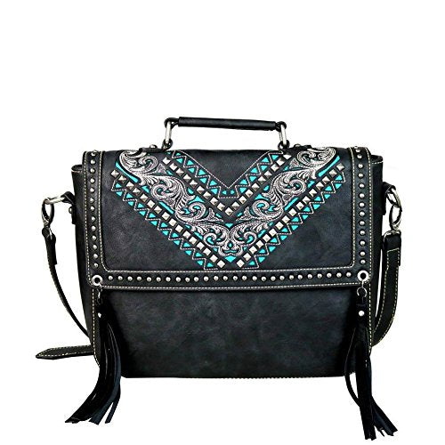 Montana West Embroidered Phone Charging Crossbody Purse - kats closet1