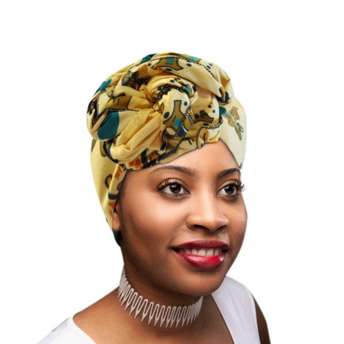 African Vibrant Colors Head Wrap/ Scarf Turbans Ties - kats closet1