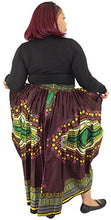 Load image into Gallery viewer, African Planet Women's Dashiki elastic waist balloon skirt - kats closet1