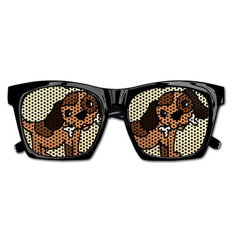 Unisex Sunglasses Cute Dog Eat Bones Sun Glasses - kats closet1