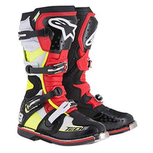Load image into Gallery viewer, Men's Off-Road Motorcycle Boots - Black/Red/Yellow/White / 9