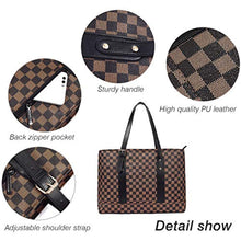 Load image into Gallery viewer, PU Leather Shoulder Bag Brown