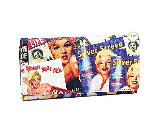 Marilyn Monroe Signature Product Women's Marilyn Monroe™ Collage Wallet MM610 - kats closet1