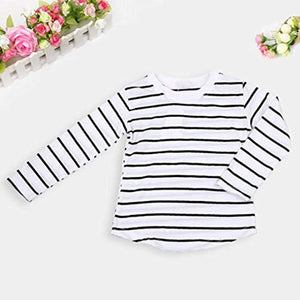 3 Piece Toddler Girls Warm Long Sleeve T-Shirt Tops+Coat+Pants Set