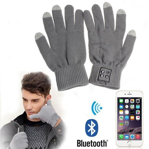 Touch Screen Bluetooth Talking Gloves Built-in Speaker/Microphone For Cellphone