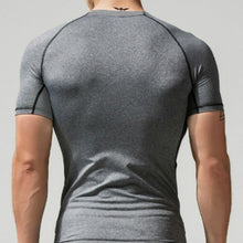 Load image into Gallery viewer, Sport Running Climbing Short Sleeves Tights Bodybuilding  Muscle Compression T-Shirt