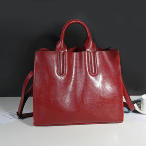 Leather Shoulder Bag/ Handbag