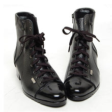 Load image into Gallery viewer, Leather Formal Lace Up  Ankle Boots