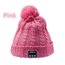 Load image into Gallery viewer, Bluetooth Music Soft Beanie Hat with Stereo Headphone Headset Speaker Wireless