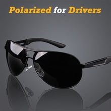Load image into Gallery viewer, Men's UV400 Polarized Coating Driving Mirrors Sunglasses for Men - kats closet1