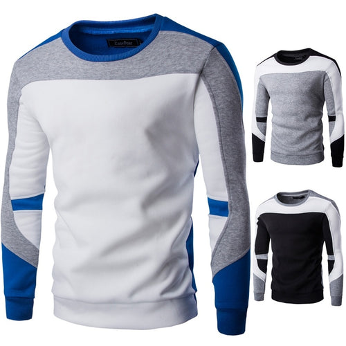Men's Cotton Long Sleeve Casual Sweater
