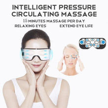 Load image into Gallery viewer, Smart wireless Bluetooth eye massage eye mask to relieve eye fatigue, dry eyes  treatment of dark circles improve vision