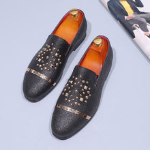 Load image into Gallery viewer, Men Sequin Flats Slip-On Party Shoes