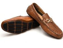 Load image into Gallery viewer, Genuine Leather Casual Slip On Loafers