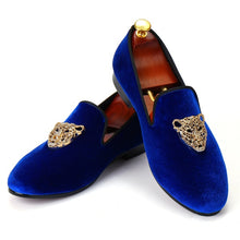 Load image into Gallery viewer, Men Casual Velvet Comfortable Loafers