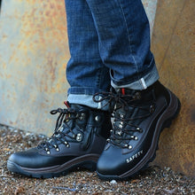 Load image into Gallery viewer, Men Outdoor Tooling Protective Safety Steel Toe Shoes/Boots
