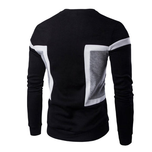 Autumn Men Slim Long Sleeve Tee Pullover Tops Sweater Casual Tops Men Sweater Apparel - kats closet1