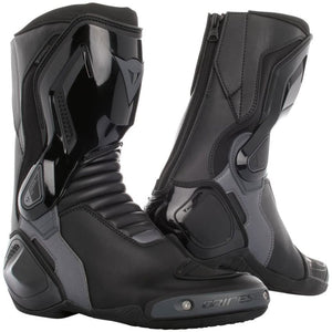 Dainese Nexus D-WP Mens Motorcycle Boots Black/Anthracite 42 Euro/9 USA - kats closet1