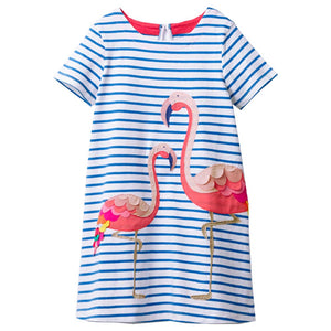 Toddler Girls Short Sleeve Ice Cream Dress