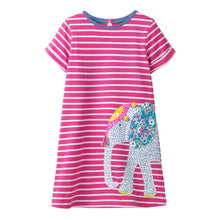 Load image into Gallery viewer, Toddler Girls Short Sleeve Ice Cream Dress