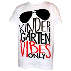 "Boys ""Kindergarten Vibes Only""Shirt"