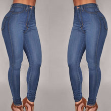 Load image into Gallery viewer, Fashion Women Denim Skinny Pant High Waist Stretch Long Slim Jeans Slim Pencil Trouser Casual Long Jean Pants - kats closet1