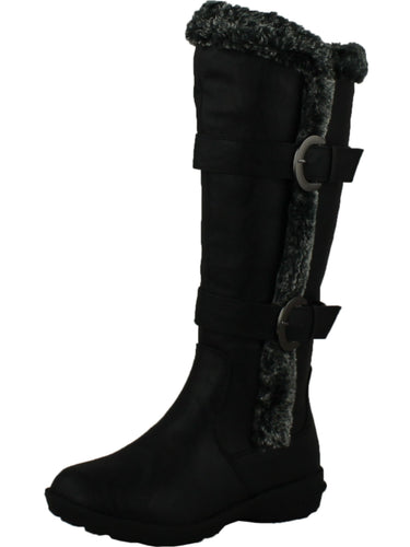 FOREVER AURA-43 Womens Double Straps Knee High Boots Winter BootsFOREVER AURA-43 Womens Double Straps Knee High Boots Winter Boots - kats closet1