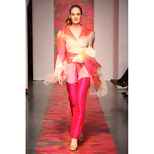 Load image into Gallery viewer, Heather Jones Pink Orchid Pants suit - kats closet1