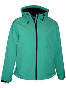 Pulse Womens Extended and Plus Size Soft Shell Hooded Jacket 1X-6XPulse Womens Extended and Plus Size Soft Shell Hooded Jacket 1X-6X - kats closet1