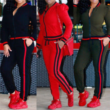 Load image into Gallery viewer, 2 Piece 3 Colors Tracksuit - kats closet1
