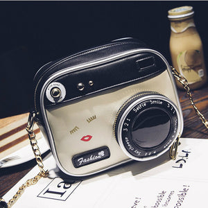 Fashion Camera Crsoobody Bag Chic Lady Casual Satchel Lovely Cute Purse Individual Summer Style Brand Leather - kats closet1