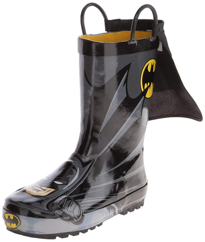 Waterproof D.c. Comics Character Rain Boots With Easy on Handles - kats closet1
