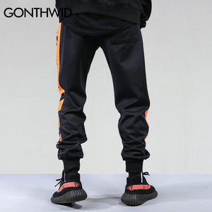 GONTHWID Striped Patchwork Harem Pants Mens 2017 Hip Hop Printed Color Block Casual Joggers Sweatpants Trousers Male Streetwear - kats closet1