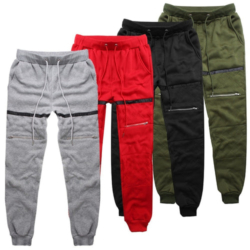 Men Solid Color Sweatpants Joggers Sports Pants - kats closet1