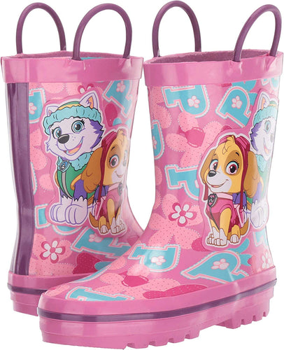 Girl's Paw Patrol Rain Boots (Toddler/Little Kid) - kats closet1