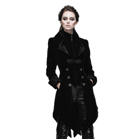 Swallow Tail Coat Gothic Long Winter Coat