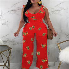 Load image into Gallery viewer, Wide Leg Sleeveless See Through Bottom Jumpsuits