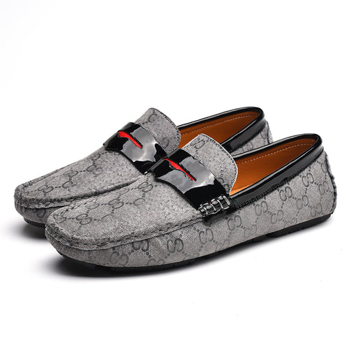 Genuine Leather Casual Loafer Shoes For Men