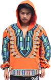 Thick Double Layer Cotton African Dashiki Printed Hoody Warm Jacket - kats closet1